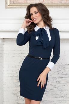Платье с галстуком Angela Ricci